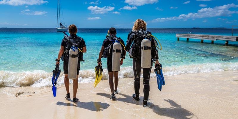 Shore Diving, Bonaire