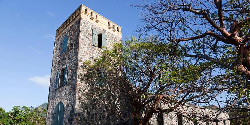 Oranjestad Ruins, Sint Eustatius