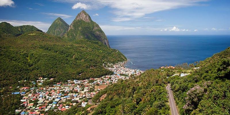 Soufrière, St Lucia