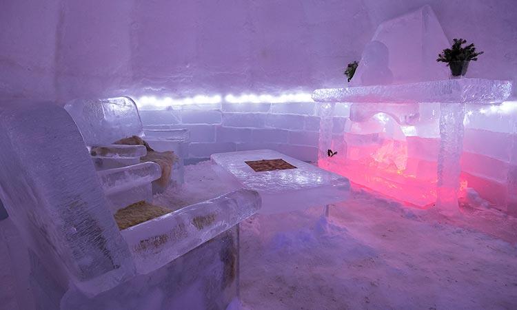 Ledeni hotel u Rumuniji