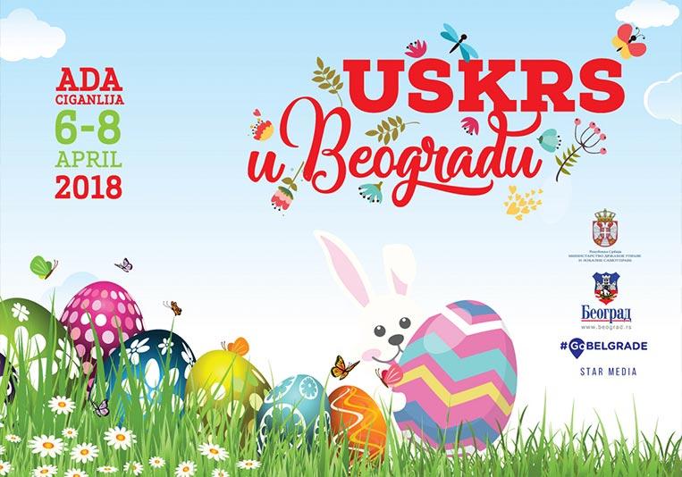 Manifestacija Uskrs u Beogradu