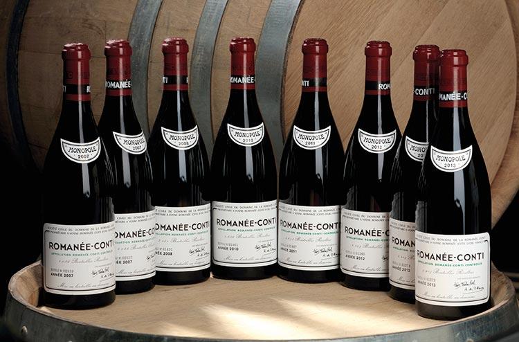 10 najboljih vina na svetu
